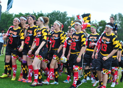 umdquidditch:  deannatroi:  UMD quidditch uniforms are SO INTENSE and I'm so in love :3  That reminds me… I need to get mine from the office..