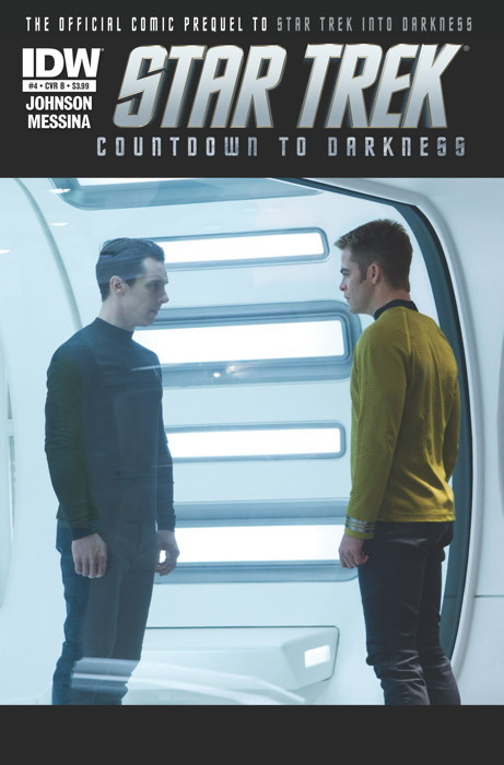 Super excited because the last issue of Star Trek Countdown to Darkness had a) an alternate photo cover with Benedict on it and b) actual comic John Harrison