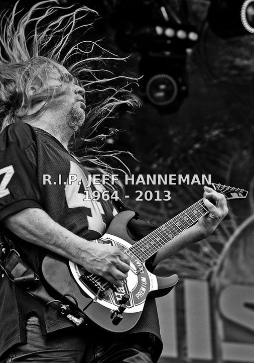 Rust In Peace Jeff 'Fucking' Hanneman.
