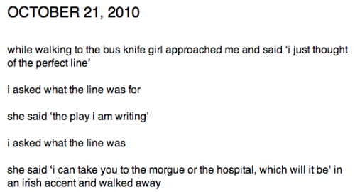 judgejudyisprobablynotavegan:  knife girl by mallory whitten