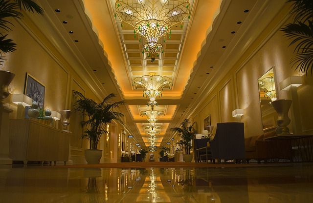 Back Halls of the Wynn on Flickr.Via Flickr:Katheryn's Gallery *|* Tumblr *|* Facebook  *|* 500px *|* Twitter While walking around The Wynn, we got lost in the back halls where the ballrooms are.  Unfortunately, they were all locked and couldn't be seen or photographed.  But, the hallways were beautiful enough the show off.  I'm really becoming a fan of this HDR processing style, it's way better for me than using some of the more common programs like Photomatix or HDR Pro.