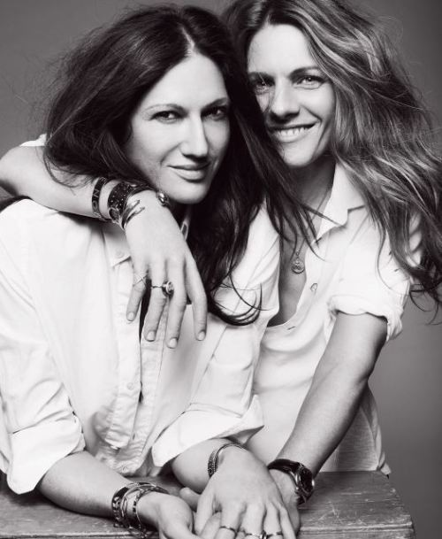 style-rx:  Jenna Lyons and Courtney Crangi in V Magazine