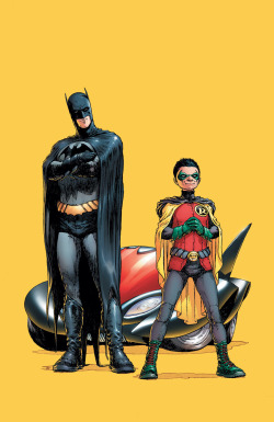 onegeeksblog:  Batman and Robin #1 - Frank Quitely