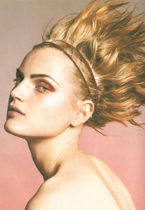 "guinevere van seenus in ""what is modern beauty?"" for vogue nippon sept. 2001, photographed by michael thompson"