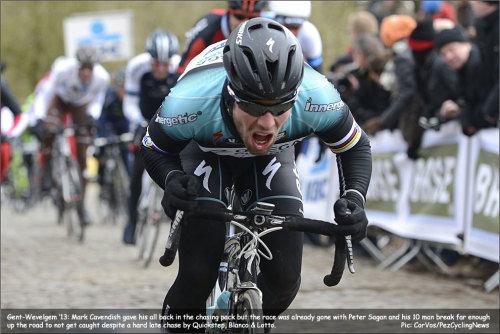 Gent-Wevelgem 2013 (via PezCycling News - What's Cool In Pro Cycling)