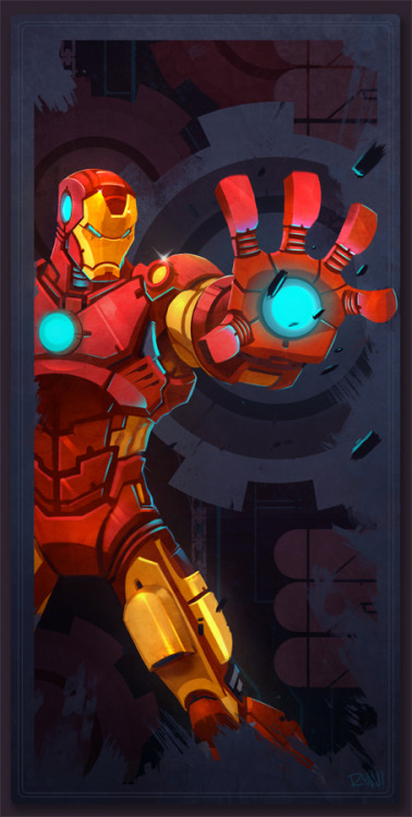 Avengers Card Iron Man by *frogbillgo Noice.