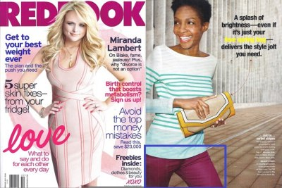 Serena Rust Coated was featured in the February issue of Redbook magazine! We <3 the cozy knit their stylist chose to pair them with!!