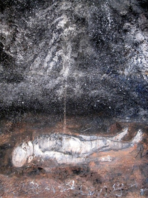 blue-voids:  Anselm Kiefer - Athanor, 2007 - detail