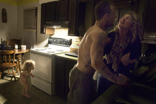 PHOTOGRAPHER BEARS WITNESS TO DOMESTIC VIOLENCE  The captions on these pictures tell a more powerful story than the article by the photographer.