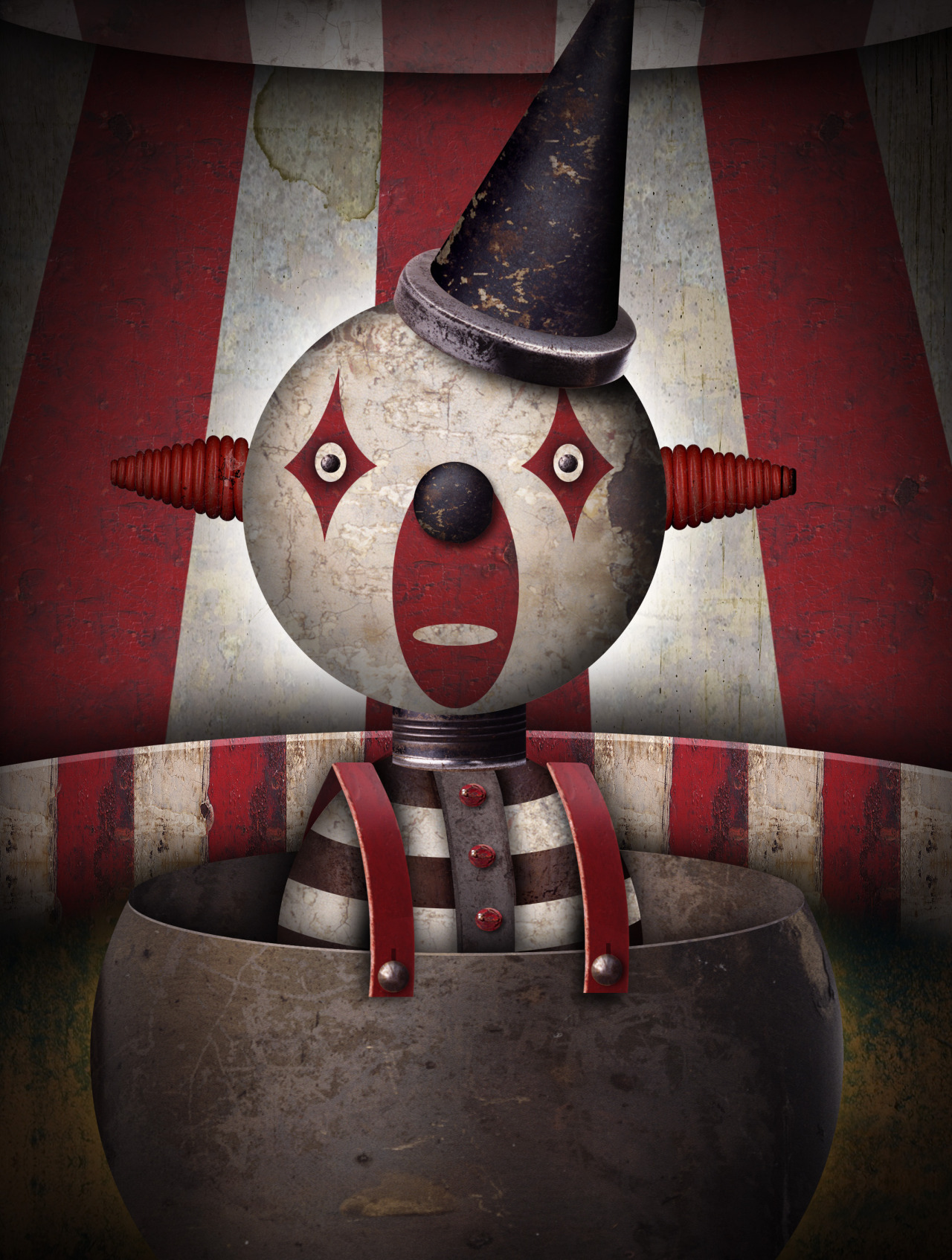 Clown © Ueland Illustration