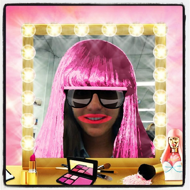 "Our intern Lauren ""Minaj-ifies her look.""  #beauty #makeup #nickiminaj"