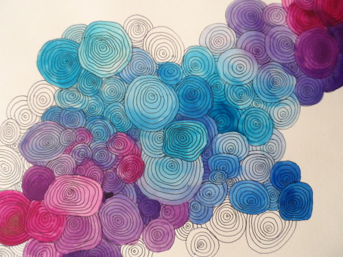 mina-marina: Untitled Watercolor and Ink