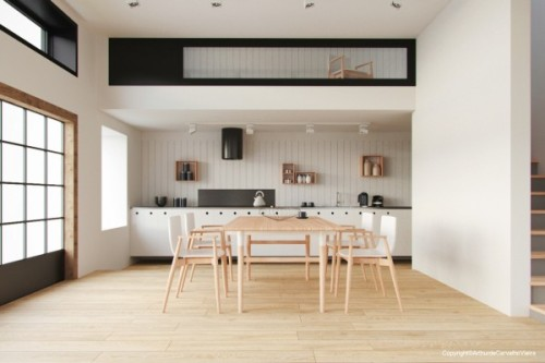 homedesigning:  (via Cool Dining Room Design for Stylish Entertaining)