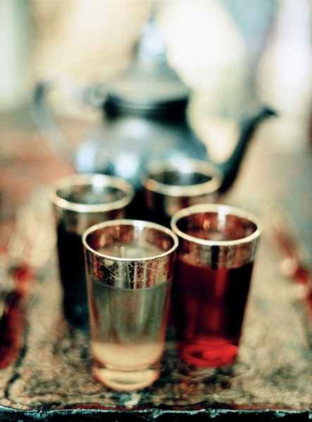 Moroccan mint tea….?
