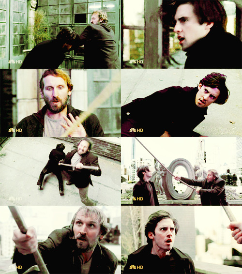 for the tag #remember when christopher eccleston was an invisible pigeon loving homless man
