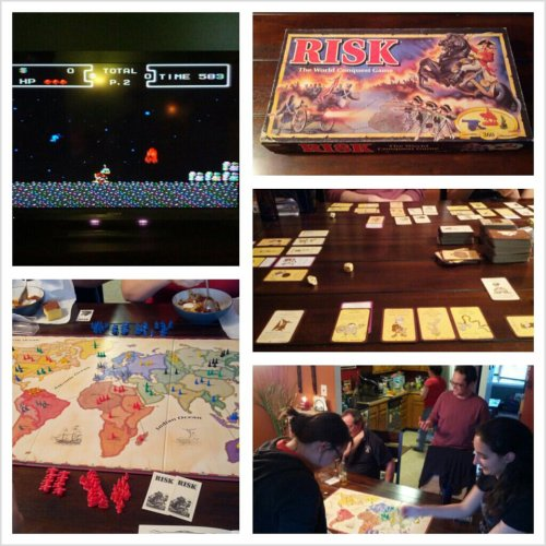 Game night last night!