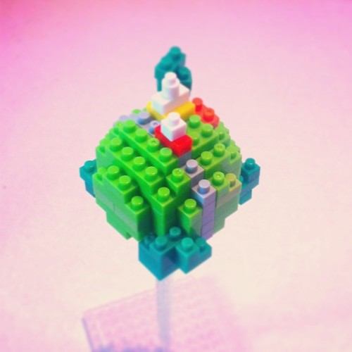 King Kai's planet #dragonball #nanoblock