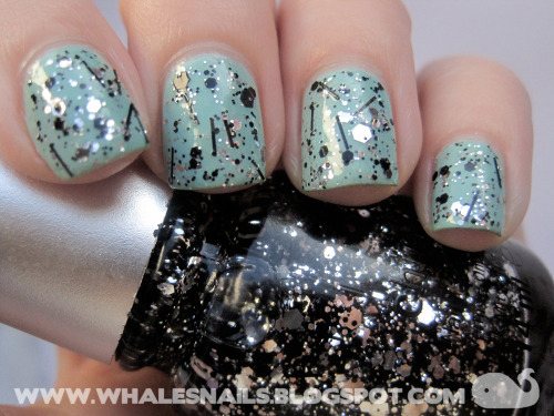 Glitz n Pieces glitter from China Glaze <3  http://www.whalesnails.blogspot.com/2013/02/glitz-n-pieces-china-glaze.html