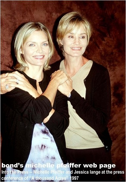 Michelle Pfeiffer and Jessica Lange