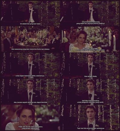 Isabella Marie Swan, you are the luckiest one.. :)