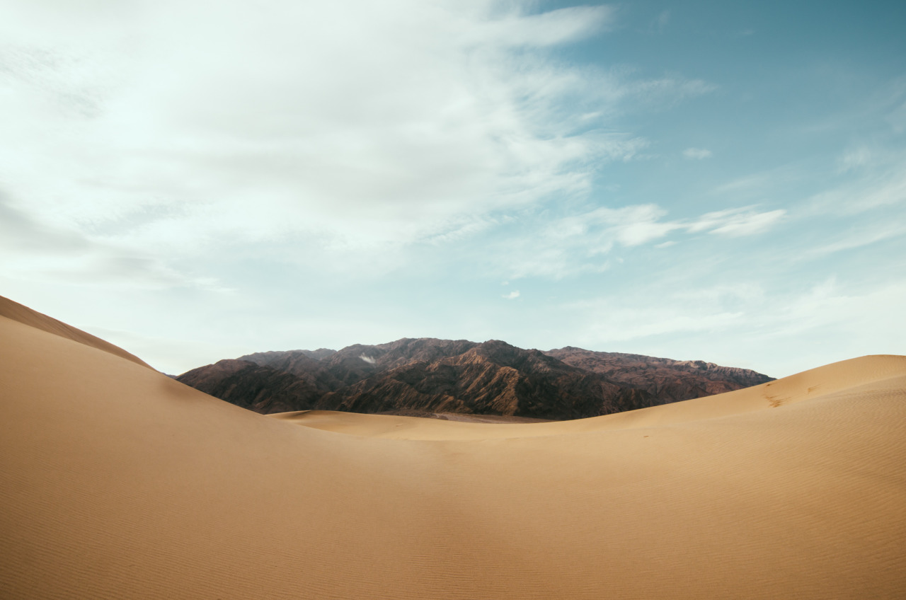 Mesquite Sand Dunes - Death Valley, Ca.