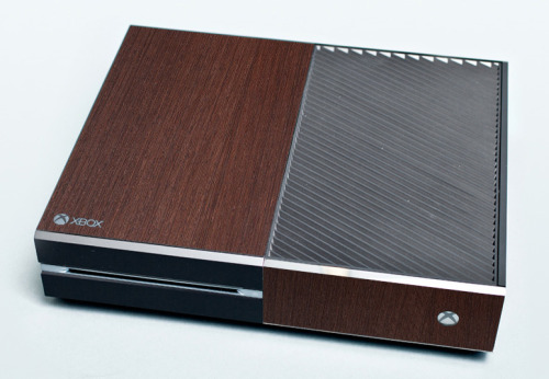 See guys? The Xbox One just needed a little vintage finish on it. It's not that bad.
