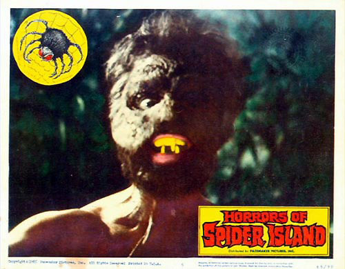 Horrors of Spider Island (1960) The Uranium Café
