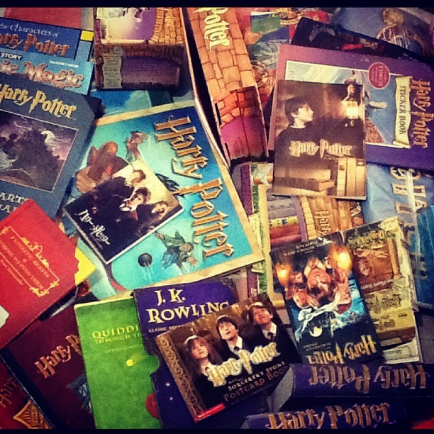Treasure! #HarryPotter #CleanUp