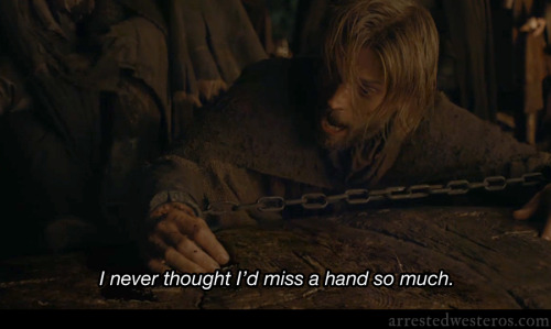 arrestedwesteros:  Buster: I never thought I'd miss a hand so much. Out on a Limb - 2x11