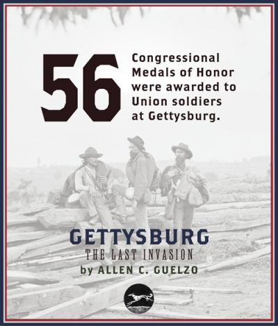Gettysburg: The Last Invasion, by Allen C. Guelzo (Knopf, 2013)