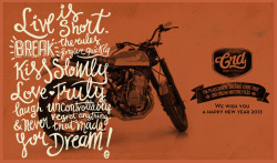Header Blog for Crd Motorcycles, 2013 Design: Alex Ramon Mas