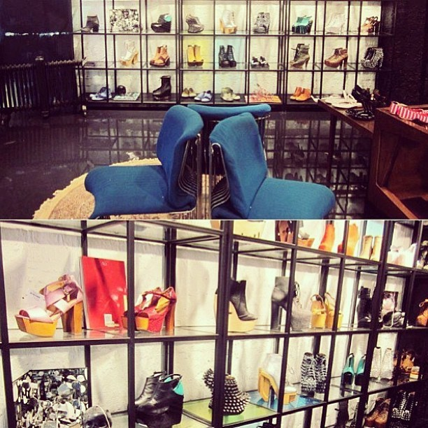 Spot GOLD DOT shoes at Style Nanda's Flagship Store in Korea! ❤ (at Style Nanda Korea)