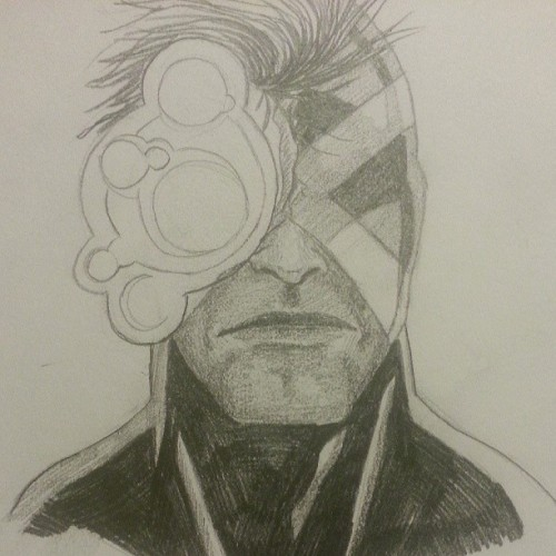 CYKE #comics #xmen #illustration #pencil #drawing #scottsummers