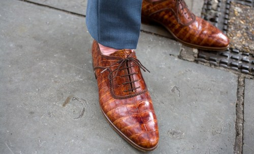 thetieguy:  sick shoe game.