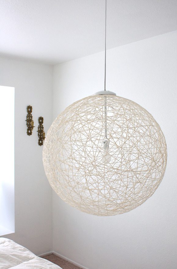 DIY Pendant Light by Made By Girl