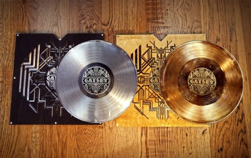 adamusprime:  holy shit the limited edition gatsby lps look suuuuper sick the sleeves are laser-cut wood however i do not have $250 to spare