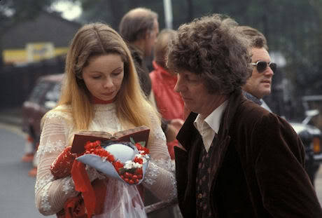 Lalla Ward (Romana II) and Tom Baker (The Doctor, IV). Wish they never divorced.