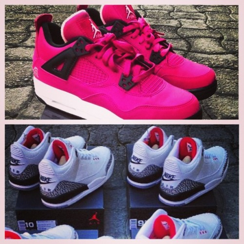 I wanted these so badly, pero super mahal :)) can't afford! Hahaha @pimp_kicks  lol. #jordan #nike