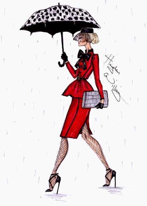 haydenwilliamsillustrations:  'April Showers' by Hayden Williams