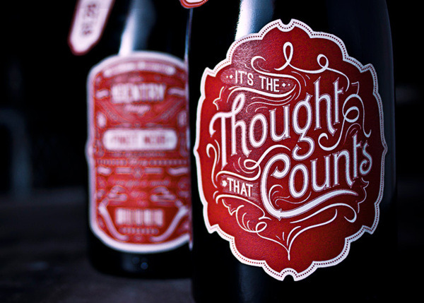 manchannel:  It's the Thought that Counts [Pinot Noir] by No Entry Design