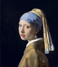 GIRL WITH A PEARL EARRING  De Young in SF is the first venue in the American tour of paintings from the Royal Picture Gallery Mauritshuis, The Hague. This jewel box of museum, housing one of the world's most prestigious collections of Dutch Golden Age Paintings, has not lent a large body of works from its holdings in nearly 30 years.  The exhibition features 35 paintings representing the range of subject matter and technique characteristic of the 17th-century painting in the Dutch Republic. Among the works traveling to the United States is the Mauritshuis' celebrated masterpiece Girl with a Pearl Earring by Johannes Vermeer and the enchanting The Goldfinch by Carel Fabritius. The painting Vase of Flowers by the gifted Rachel Ruysch (one of the few female painters of the Duch Golden Age) has been restored especially for the American tour.  Today De Young is celebrating International Museum Day with free general admission all day (Friday, May 17).