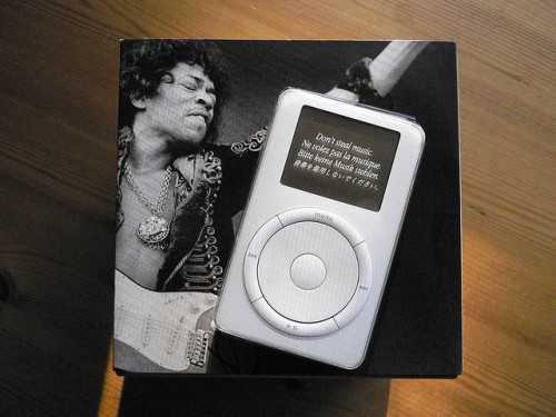 thisistheverge:  What was your first iPod?  First song you bought on iTunes?  