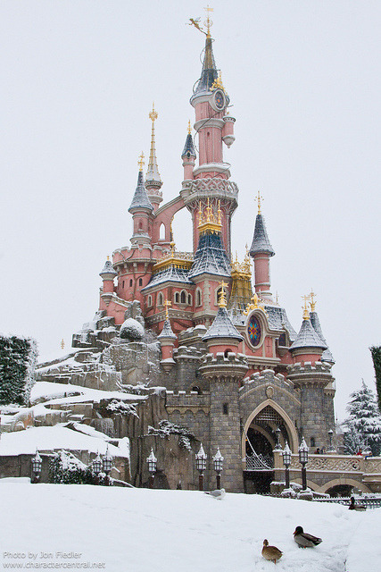 DLP Dec 2010 - Wandering through a very snowy Parc Disneyland by PeterPanFan
