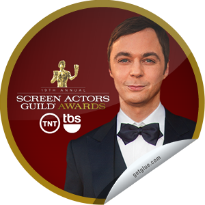 I just unlocked the The 19th Annual SAG Awards TV Nominees sticker on GetGlue                      29371 others have also unlocked the The 19th Annual SAG Awards TV Nominees sticker on GetGlue.com                  You can't stop watching TV shows nominated for SAG Awards. Tune in to see who wins on Sunday, January 27 @ 8pm ET on TNT & TBS. Share this one proudly. It's from our friends at TNT and TBS.