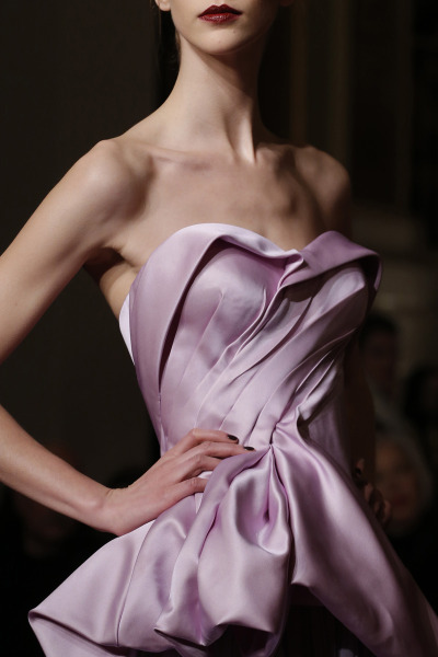 models-on-the-runway:  zac posen f/w 2013