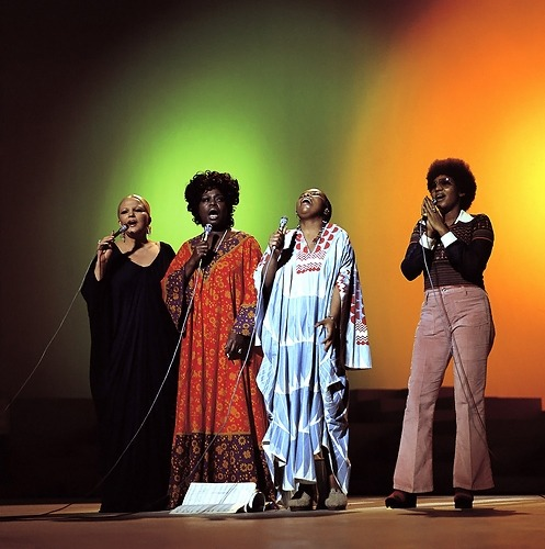 misterand:  Peggy Lee, Sarah Vaughan, Roberta Flack and Aretha Franklin