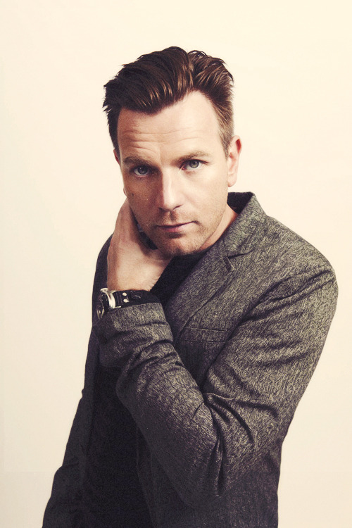 Ewan McGregor photographed by Peter Ash Lee.