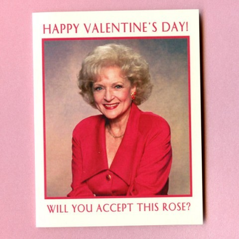 ITEM OF THE DAY: BETTY WHITE VALENTINESby Kerry Winfrey http://bit.ly/XGx7Uz