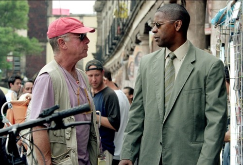fuckyeahdirectors:  Tony Scott and Denzel Washington on-set of Man on Fire (2004)