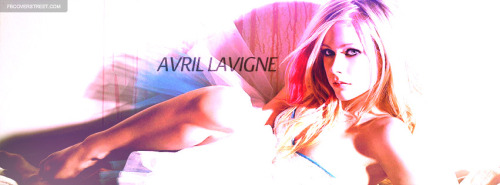 Avril Lavigne Modeling Facebook Cover
